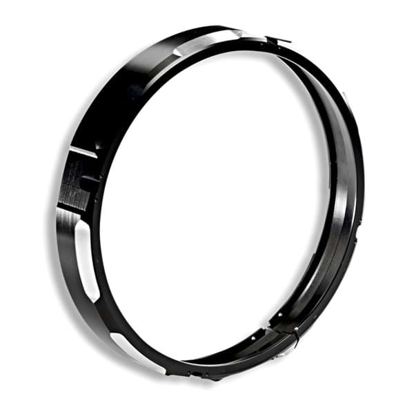 Bild von Ducati - Machined Headlamp Bezel, Anodized Black